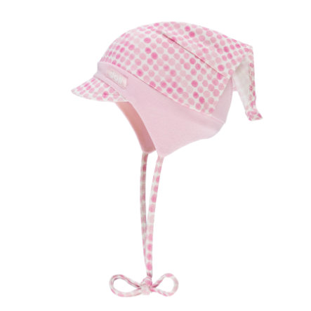 Döll Girls hoofddoekjes pet met roze piek dame