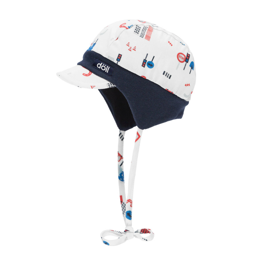 Döll Jongens Bindemützemit Paraplu voor jongens  total eclipse