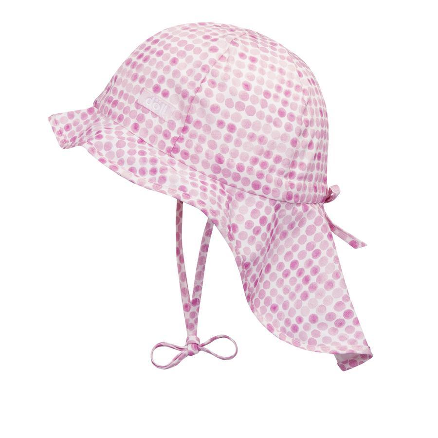 Döll Girls Sonnenhut mit Nackenschutz pink lady