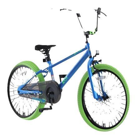 "bikestar Deluxe Cruiser 20"" dětské kolo Crocodile Green"