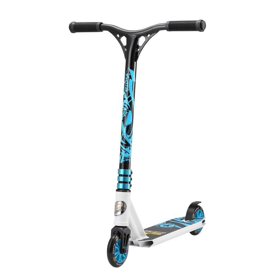bikestar STAR-SCOOTER® Freestyle Mini Stuntscooter Action Weiß