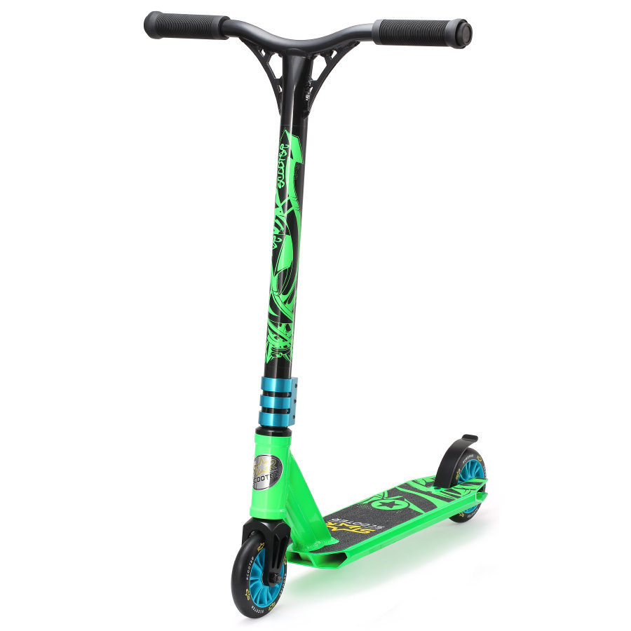 bikestar STAR- SCOOT ER® Zdarma styl Mini skútr Action Action Green