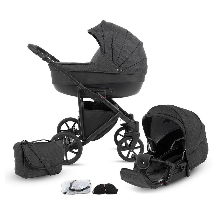 knorr-baby Combi Kinderwagen Madeira leisteen