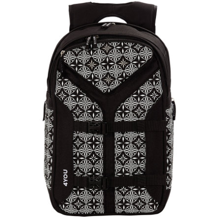 4YOU Flash RS Rucksack Boomerang Sport, 444-45 Black&White
