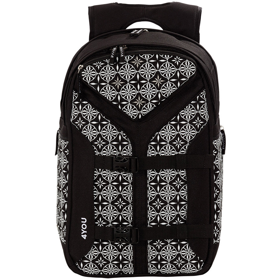 4YOU Flash RS Backpack Boomerang Sport, 444-45 Black&White