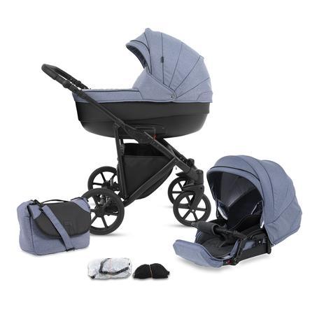 knorr-baby Kombikinderwagen Madeira 11-teiliges Set Blau
