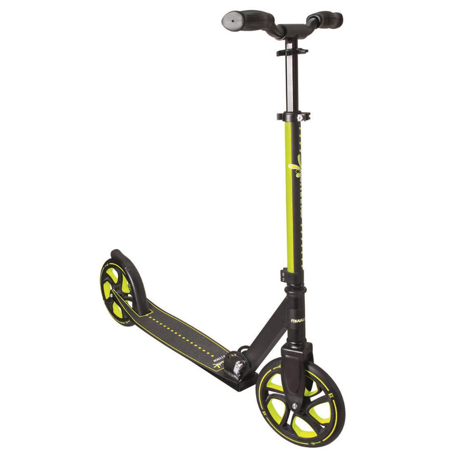 AUTHENTIC SPORT Muuwmi Aluminium Scoot Pro 215, zelená