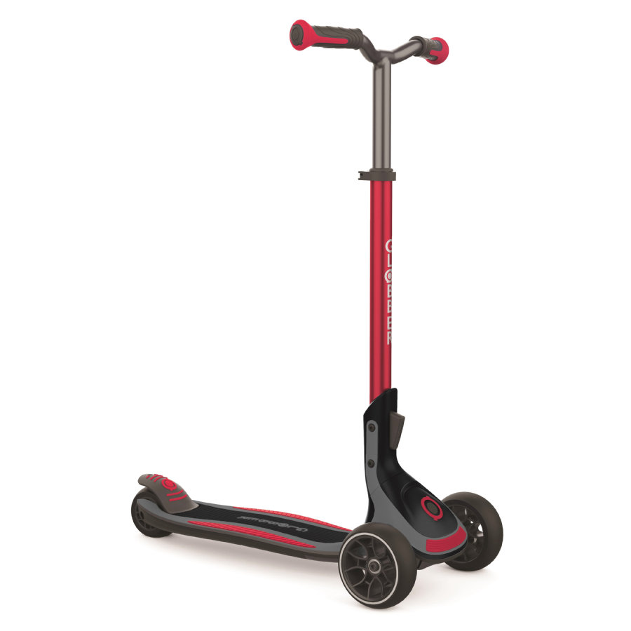 Globber Trottinette enfant 3 roues Ultimum, rouge