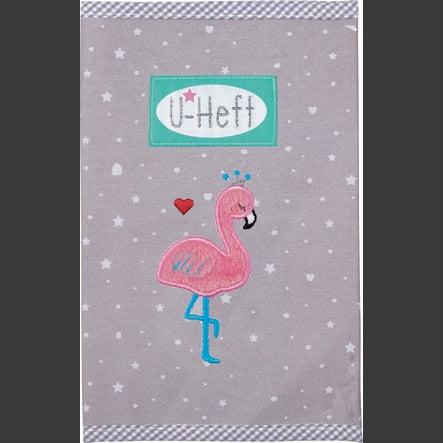 SPIEGELBURG COPPENRATH U-Heft Hülle Flamingo BabyGlück