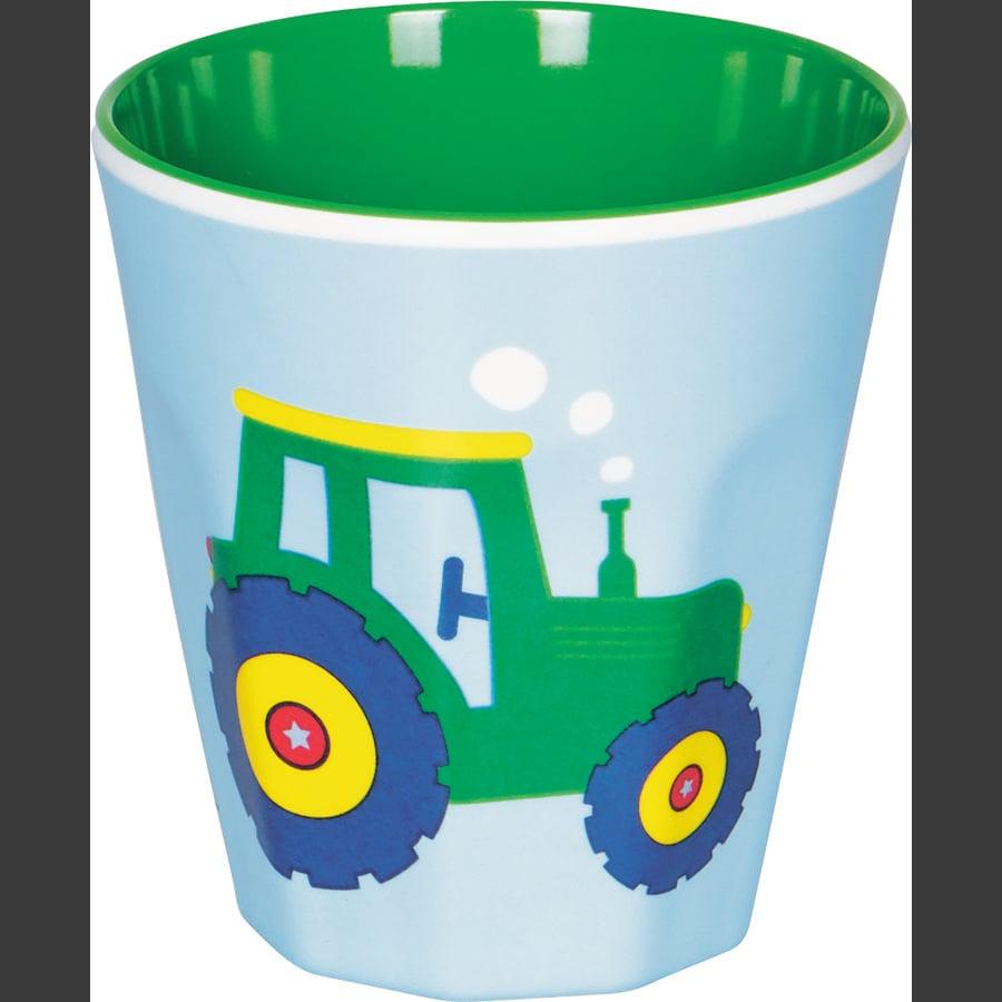 SPIEGELBURG COPPENRATH Melamin-Becher Traktor - Wenn ich mal groß bin