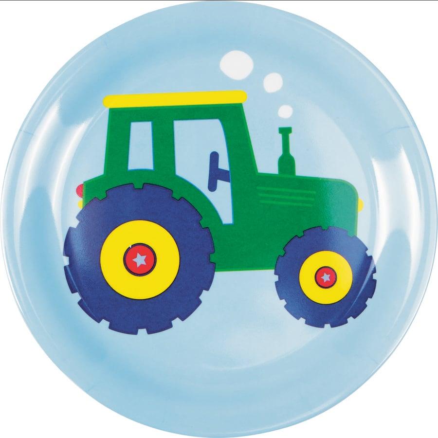 SPIEGELBURG COPPENRATH Melamin-Teller Traktor - Wenn ich mal groß bin