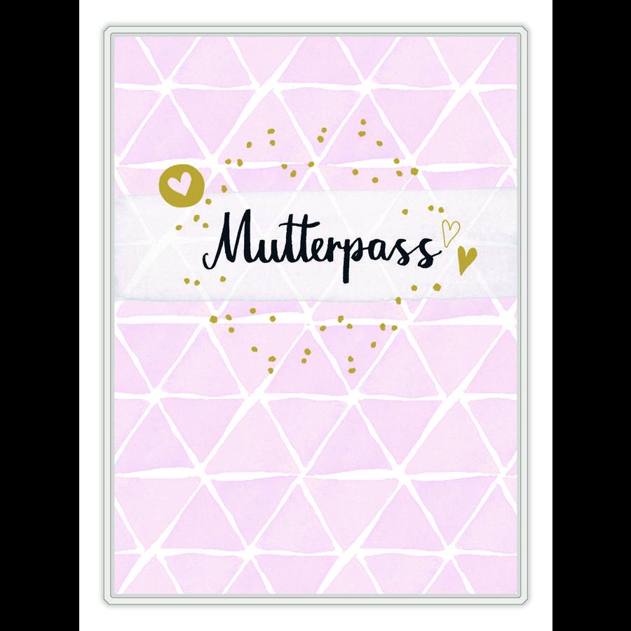 COPPENRATH Mutterpasshülle - Mutterpass, rosa