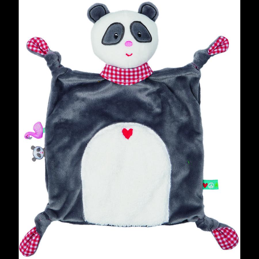 SPIEGELBURG COPPENRATH Schnuffeltuch Panda BabyGlück