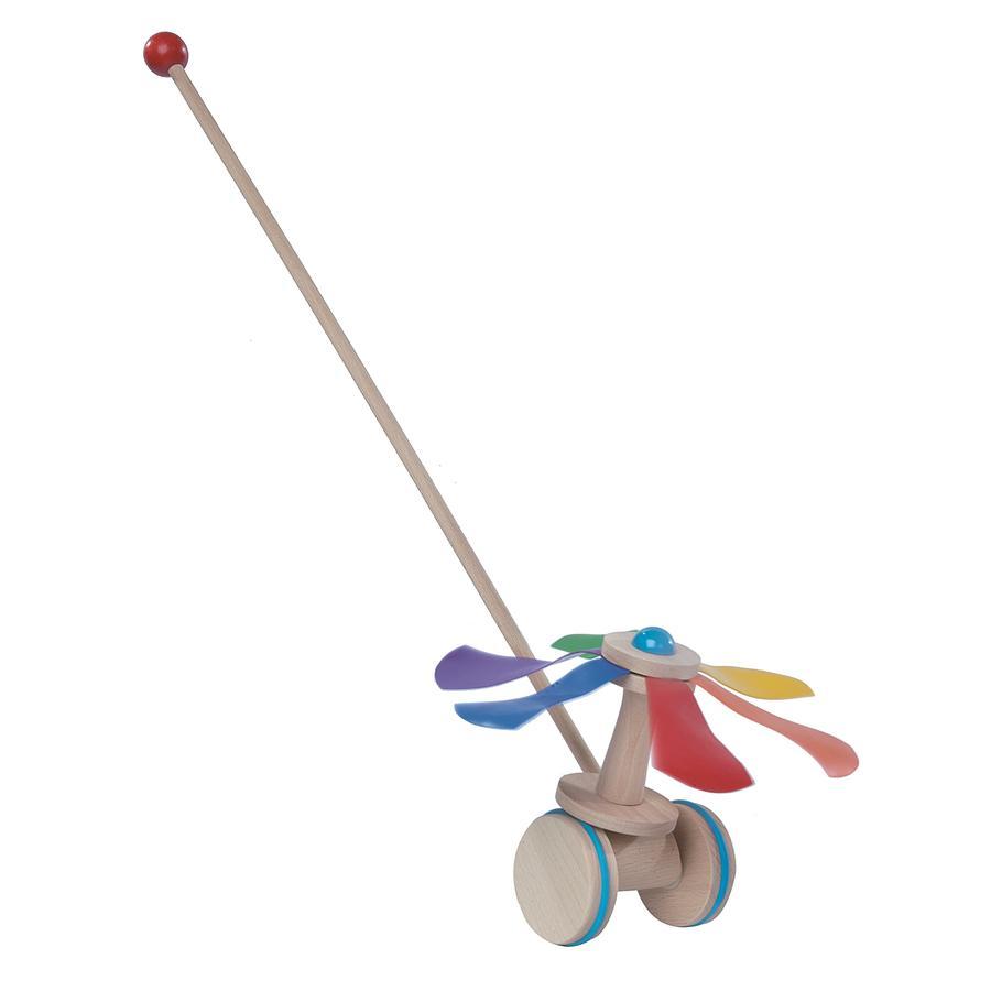 Helga Kreft Jouet à promener carrousel bois