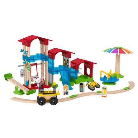 Fisher-Price® Jeu de construction école terrain de jeux Wonder Makers bois