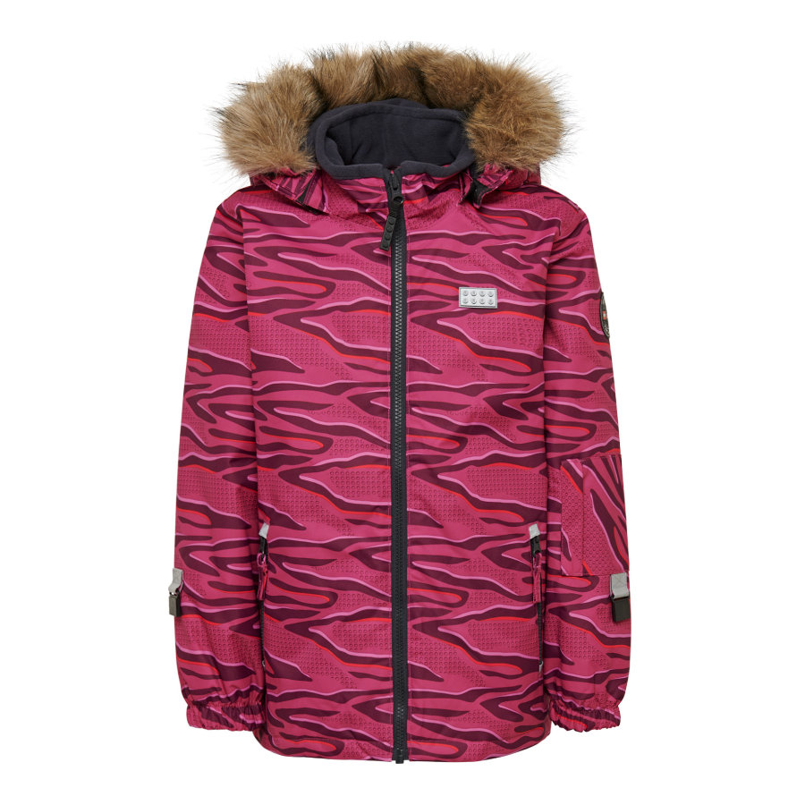 LEGO® WEAR Winterjacke LWJOSEFINE 712 Dark Pink