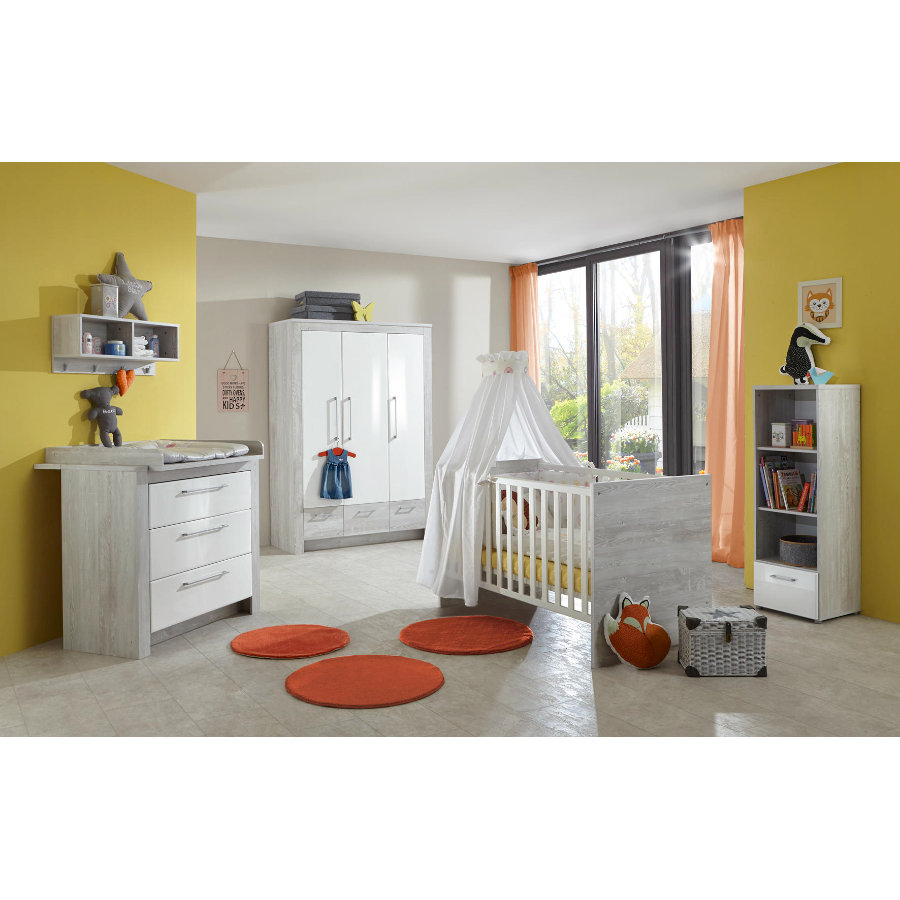 arthur berndt Kinderzimmer Emilia 3-türig mit Umbauseiten