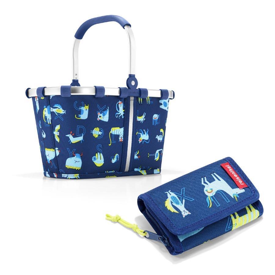 reisenthel® carrybag XS kids + wallet S  in abc friends blue