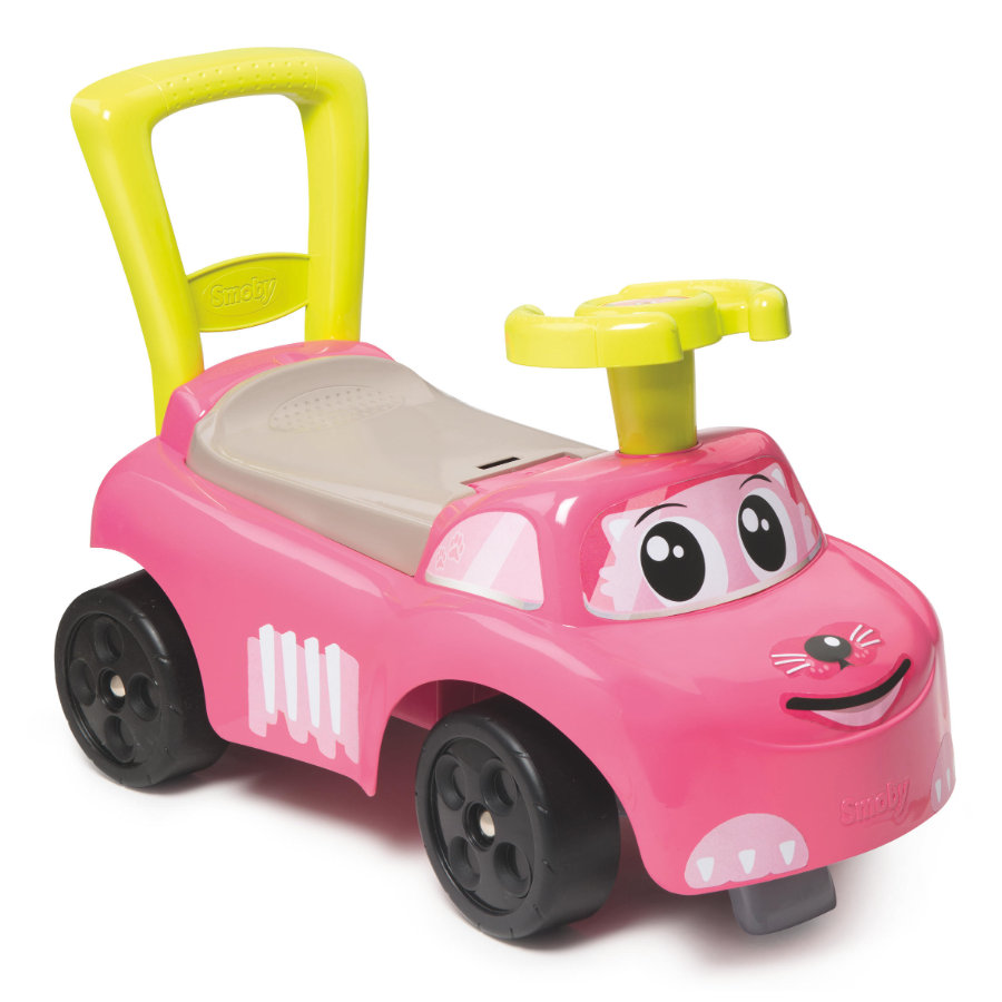 SMOBY Mój pierwszy jeździk Auto, różowy