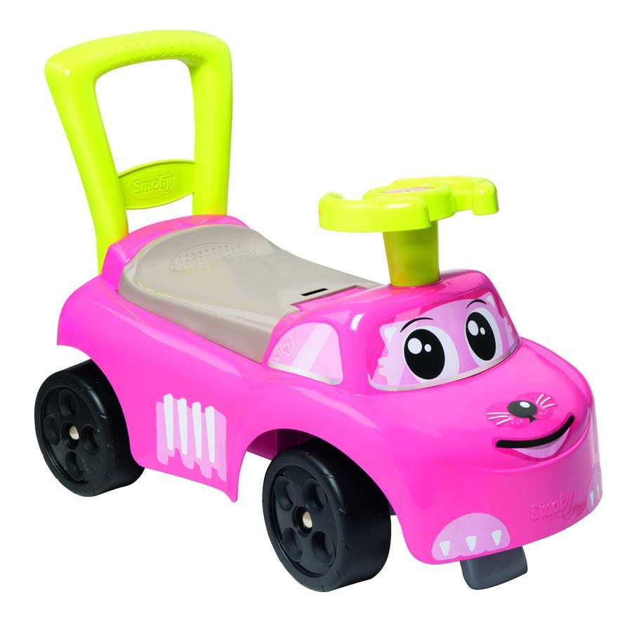 Smoby Můj první vůz na auto růžový