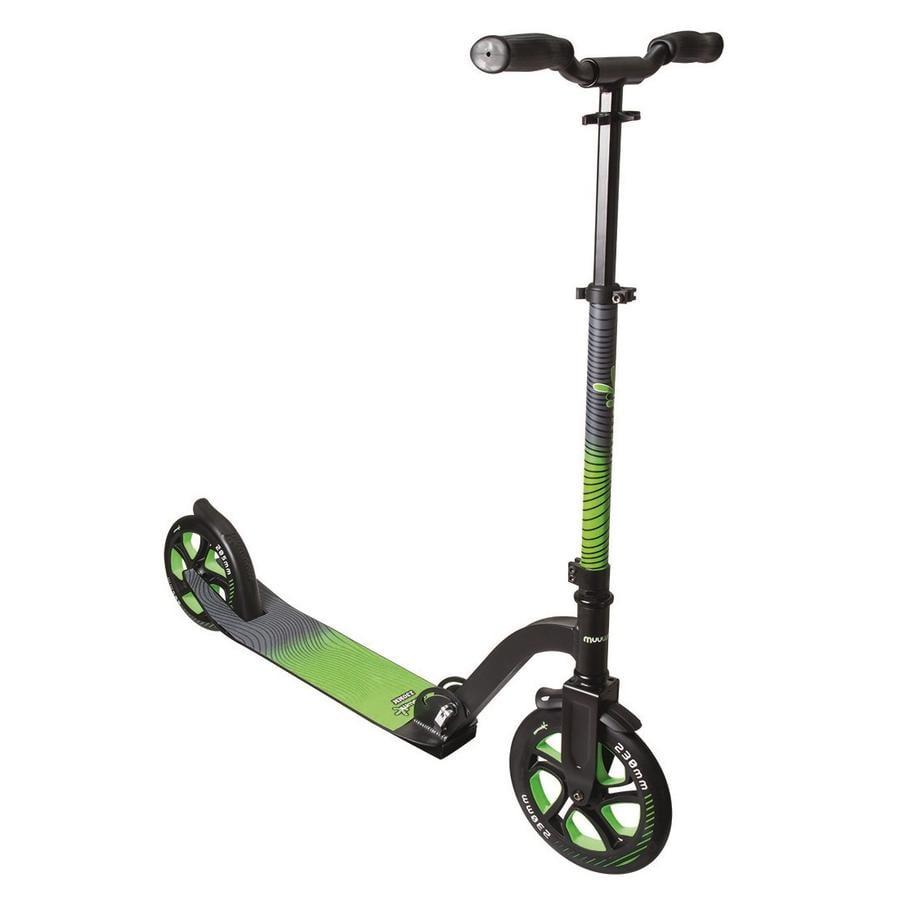 AUTENTICKÉ SPORTY Muuwmi Aluminium Scoot Pro 230, zelená