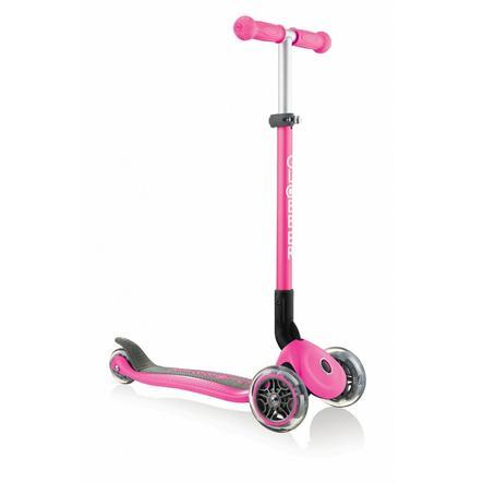 AUTHENTIC SPORTS Globber Primo Sammenfoldelig med oplyste hjul, lyserød