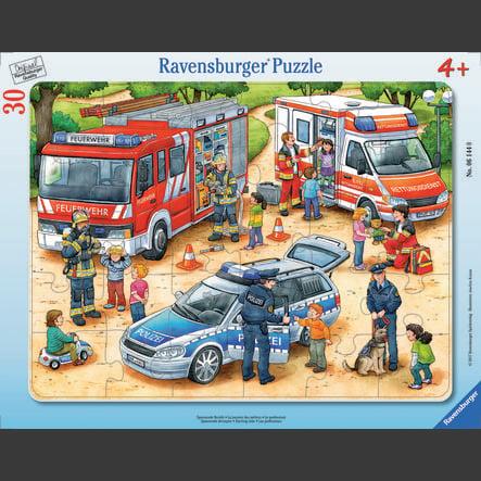 Puzzle Ravensburger Frame - vzrušující profese, 30 kusů
