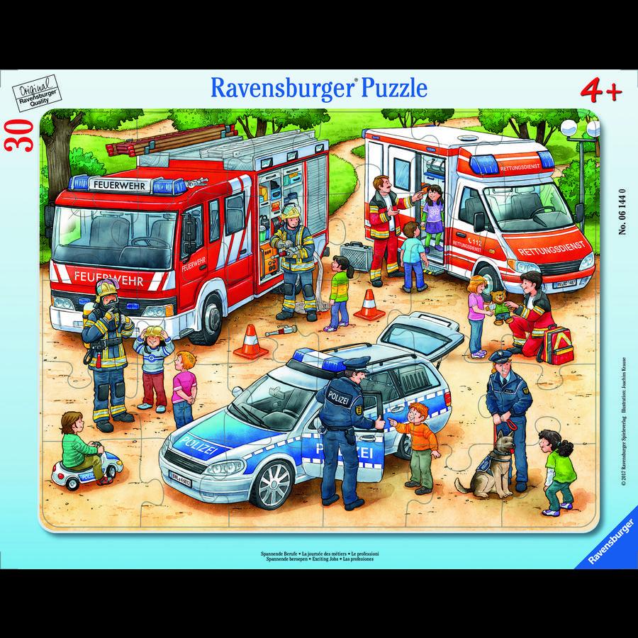 Ravensburger Rahmenpuzzle - Spannende Berufe, 30 Teile