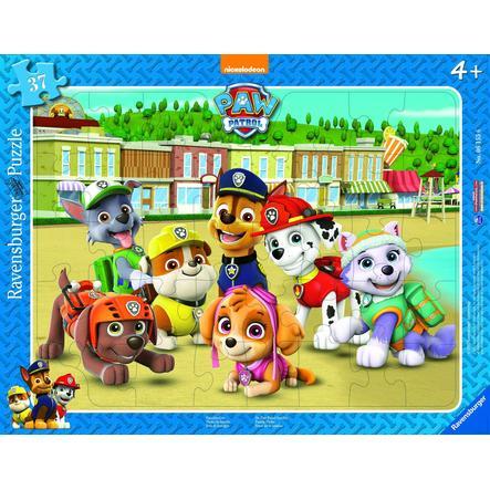 Ravensburger Puzzle à cadre Pat Patrouille photo famille, 37 pièces