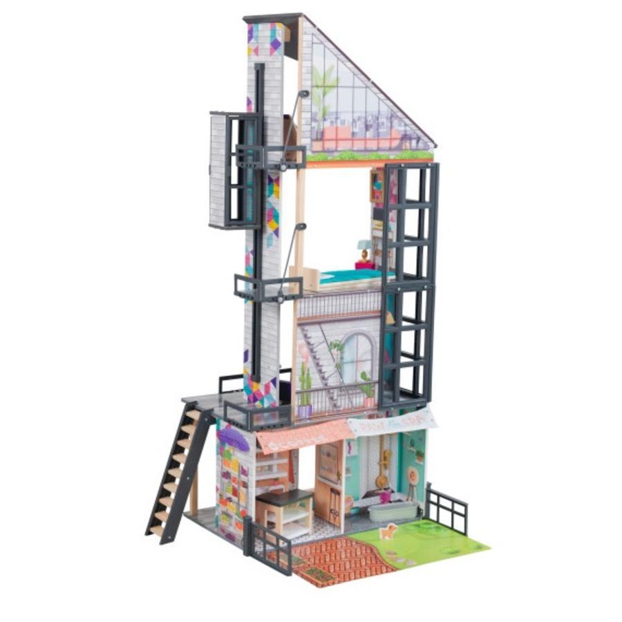 KidKraft® Maison de poupée Bianca City Life bois 65989