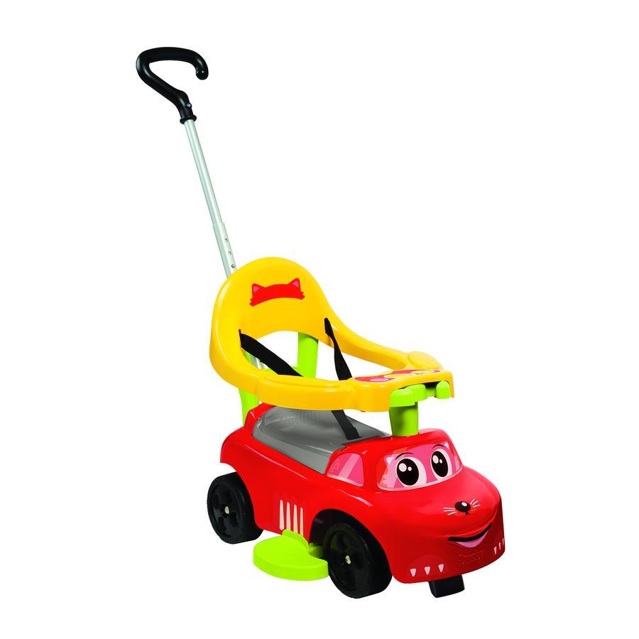 Smoby Porteur enfant évolutif auto Balade, rouge