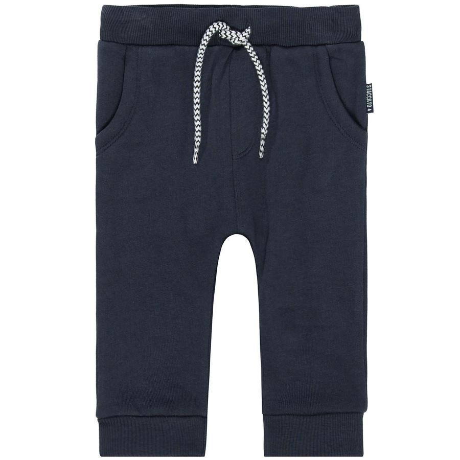 STACCATO  Chłopcy dresowe spodnie z ciemnej marynarki wojennej.