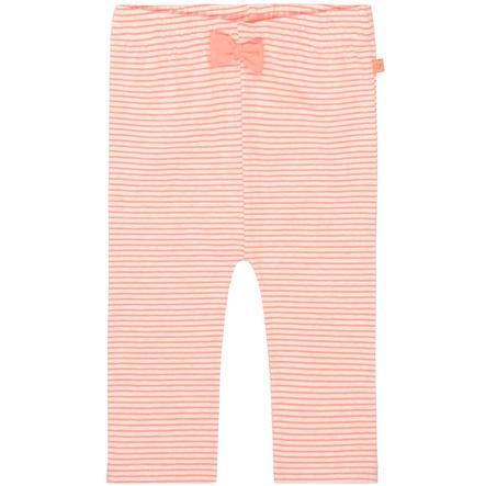STACCATO Girls Leggings neon peach gestreift