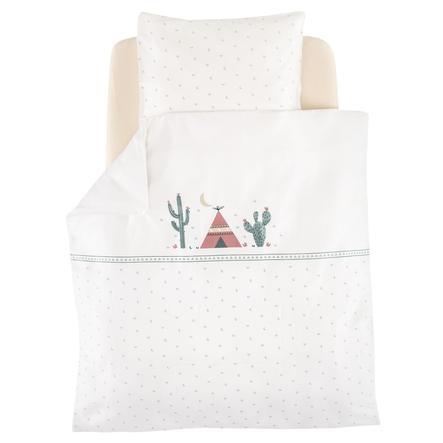 Träumeland Bettwäsche Kaktusliebe 80 x 80 cm