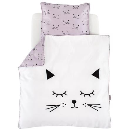 Träumeland Ložní prádlo plyšová kočka 80 x 80 cm