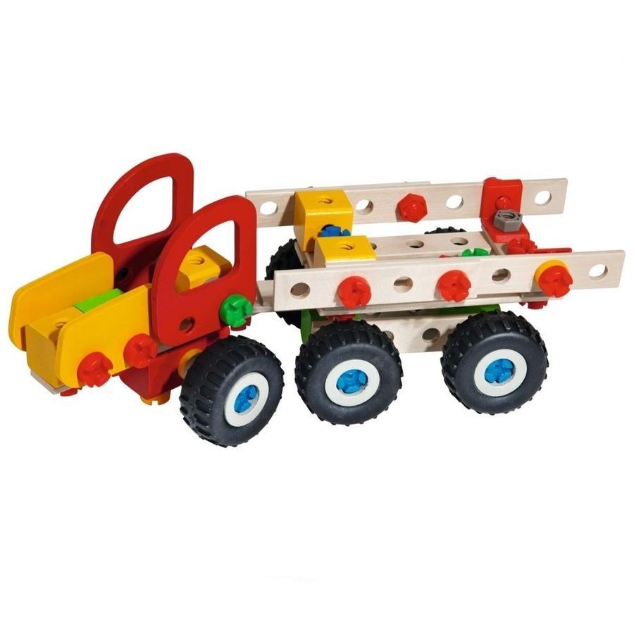 Eichhorn Jeu de construction enfant camion Harvester bois