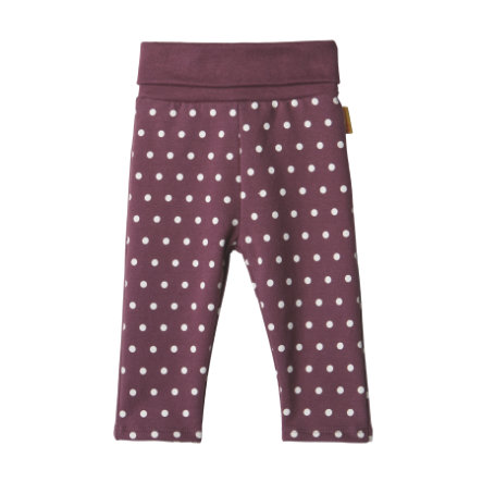 Steiff Girls Leggings, violet
