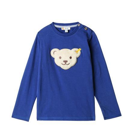 Steiff Jongens shirt met lange mouwen, blauw