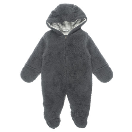 Feetje Teddy suit z kapturem Little Things antracytowym.