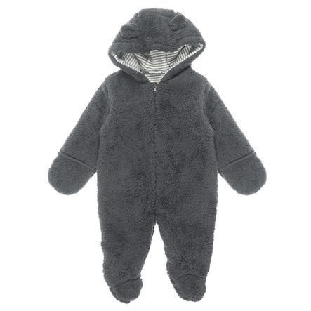 Feetje Traje Teddy con capucha Little Things antracita