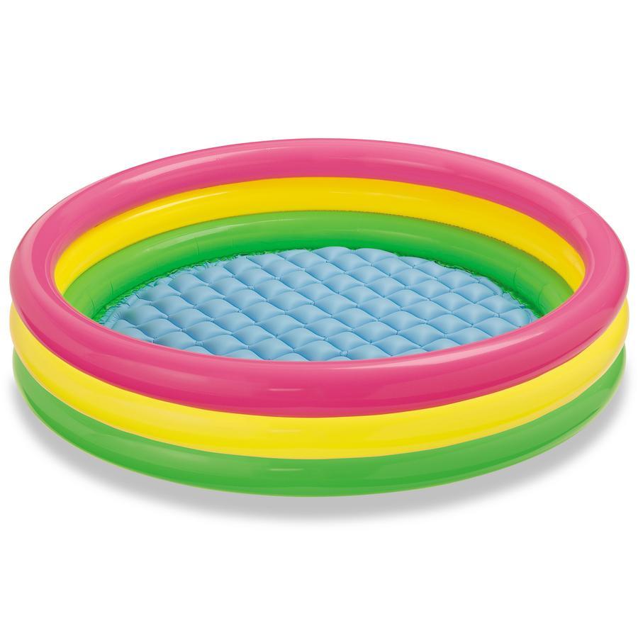 INTEX dětský 3-kruhový bazén Sunset Glow 114 x 25 cm