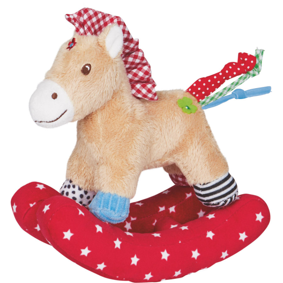 SPIEGELBURG COPPENRATH Rattle Horse Baby Luck