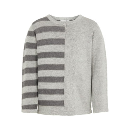 name it Boys Pullover NMMNUELON grey melange