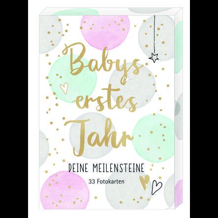 SPIEGELBURG COPPENRATH Fotokarten-Box Babys erstes Jahr - Deine Meilensteine