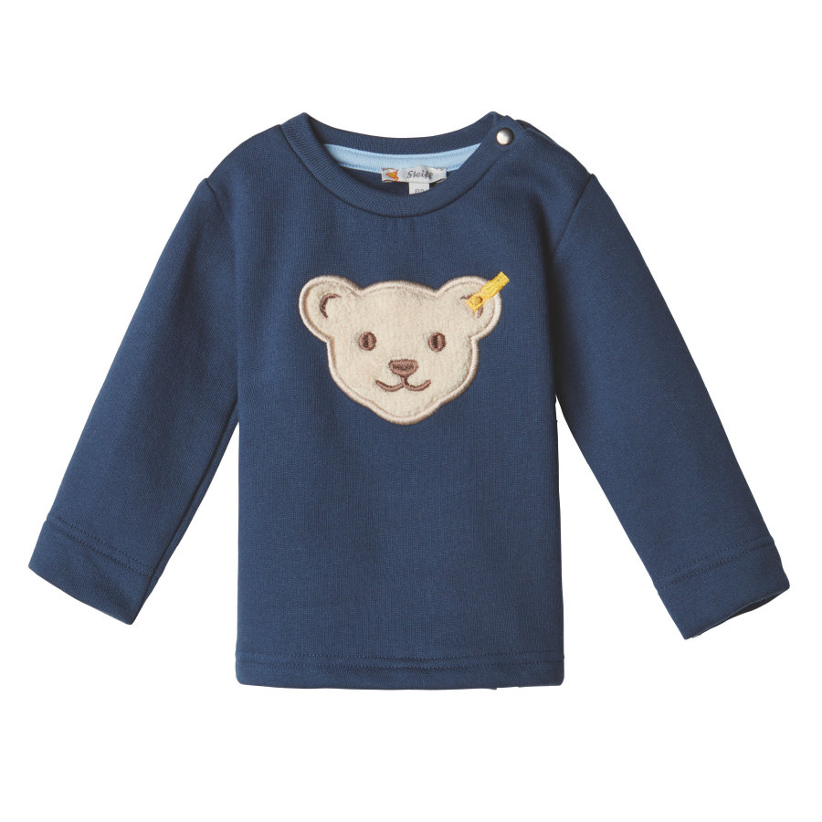 Steiff Boys Sweatshirt, back iris
