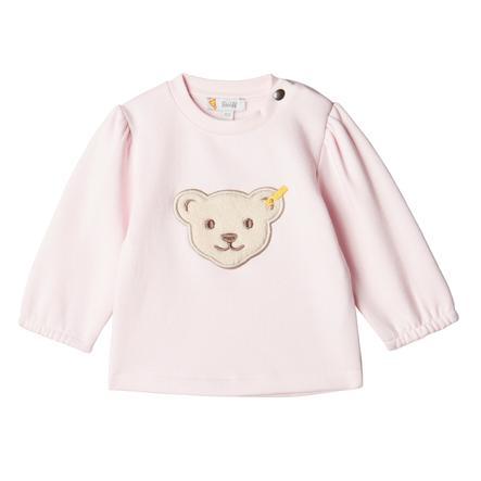 Steiff Sweatshirt, knappt rosa