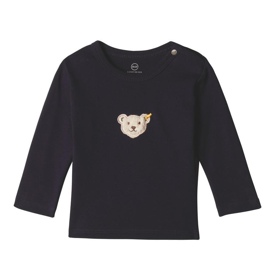 Steiff Camisa de manga larga para niños, black iris