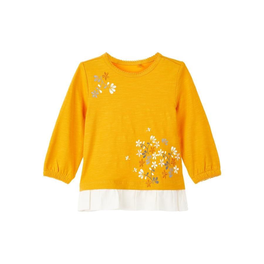 name it Chlapecká košile s dlouhým rukávem Nova Golden Orange
