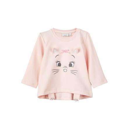 name it Girls Camisa Barely manga larga rosa