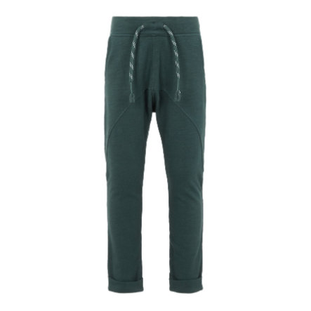 name it Jongens Sweatpants Najan green topgevels